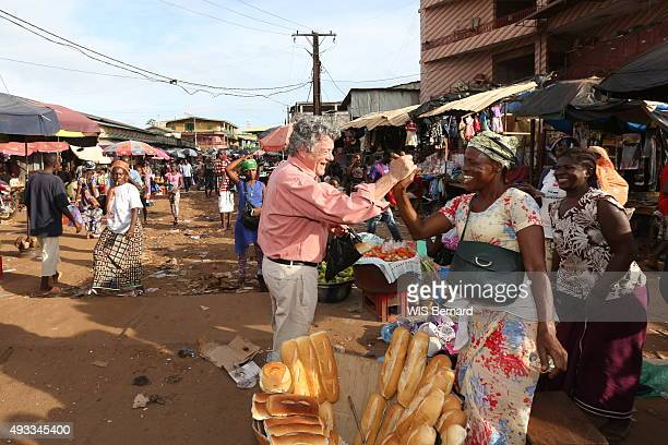 the former politician JeanLouis Borloo is photographed for Paris Match on september 27 2015 in Guinea