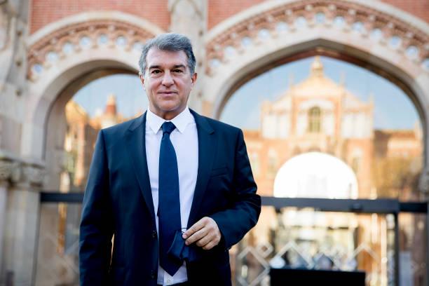 ESP: Joan Laporta, Candidate To FC Barcelona Chairman