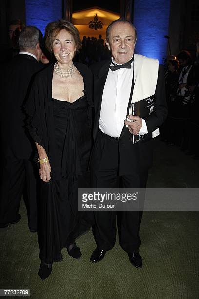 The former Prime Minister Michel Rocard and his wife arrive at the Fondation Pour L'Enfance Ball at the Palais de Versailles October 8 2007 in...