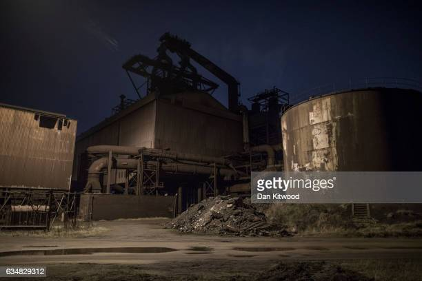 The former SSI Steel making plant on February 6 2017 in Redcar United Kingdom The SSI steel making plant at Redcar was mothballed in 2015 which...