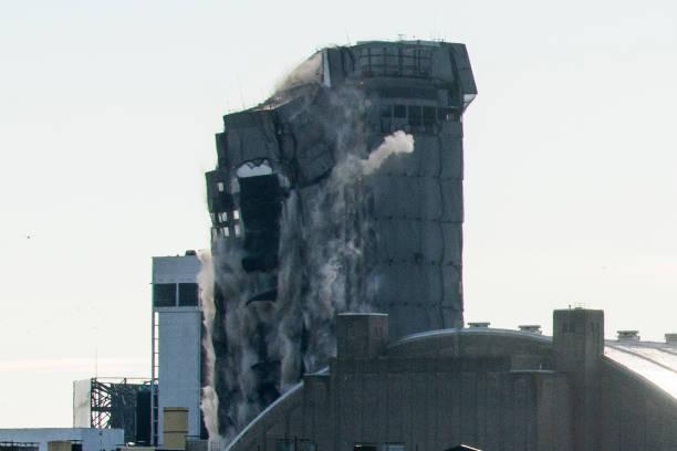 NJ: Trump Plaza In Atlantic City Imploded