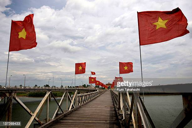 The former Viet Namese Demilitarized Zone also knoan as The 17th Parallel was established as a dividing line between North and South Viet Nam as a...