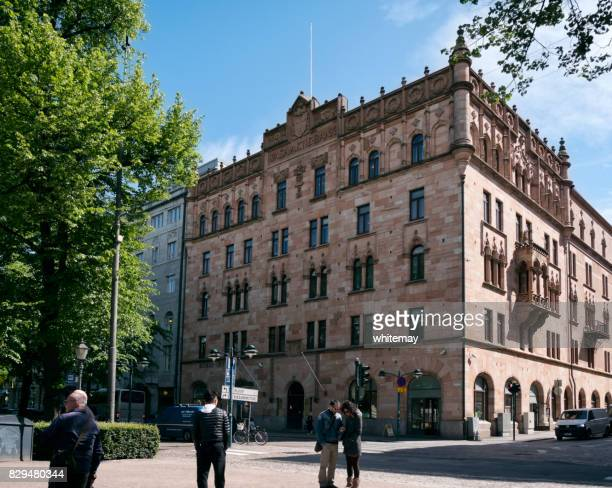 The former Wasa Aktie Bank (Vaasa Osakepankki) building in Helsinki, Finland