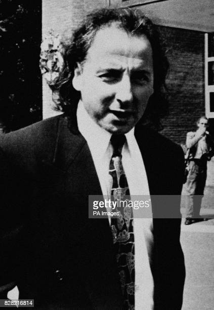 The former Welsh International soccer star arriving before he received an 18month sentence for passing forged banknotes