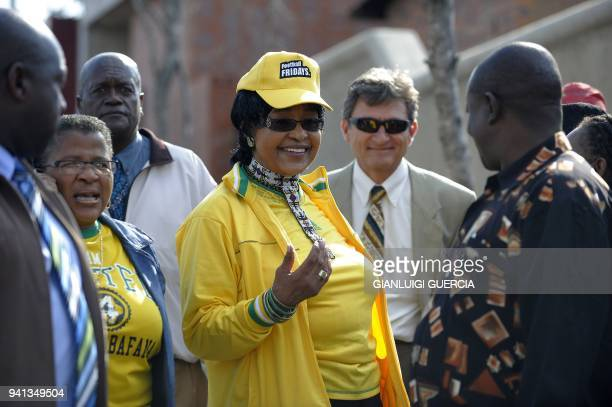 The former wife of former South African president and Nobel peace prize laureate Nelson Mandela antiapartheid campaigner Winnie MadikizelaMandela...