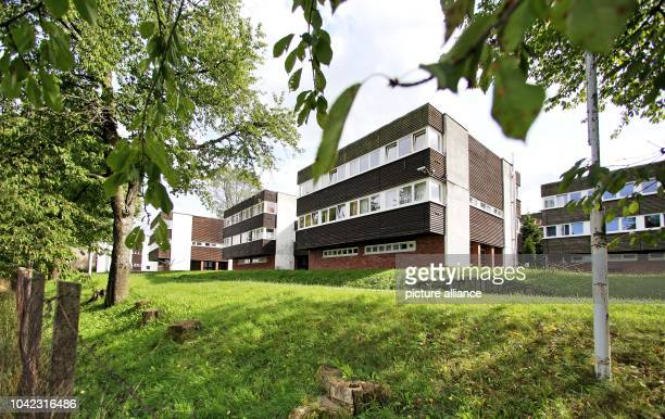 The former Young Pioneer camp in Einsiedel Germany 24 September 2015 The building complex of the youth organization of former socialist East Germany...