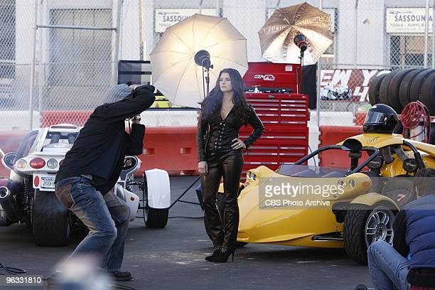 'The Formula' Guest star Race car driver Danica Patrick appears in a scene of CSI NY show scheduled to air Wednesday Feb 10 on the CBS Television...