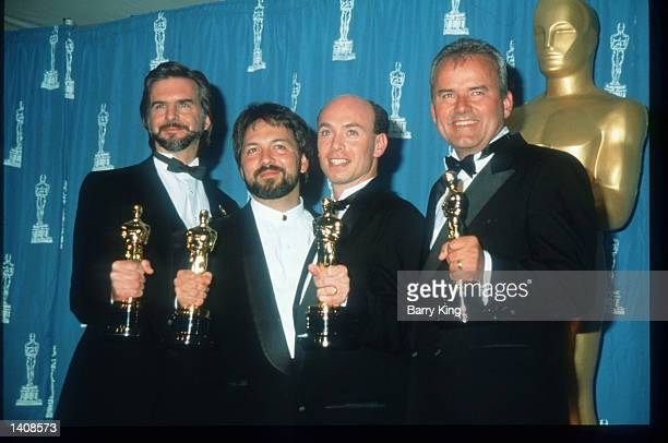"The ""Forrest Gump"" winners attend the 67th Annual Academy Awards ceremony March 27, 1995 in Los Angeles, CA. This year''s ceremony recognizes..."