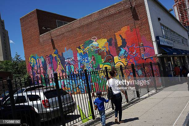 The Fort Green neighborhood, a rapidly glowing cultural district of Brooklyn which is located close to Manhattan, is viewed on June 12, 2013 in New...