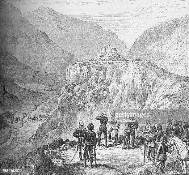 The fort of Ali Masjid in the Khyber Pass 1908 From Harmsworth History of the World Volume 2 by Arthur Mee JA Hammerton AD Innes MA
