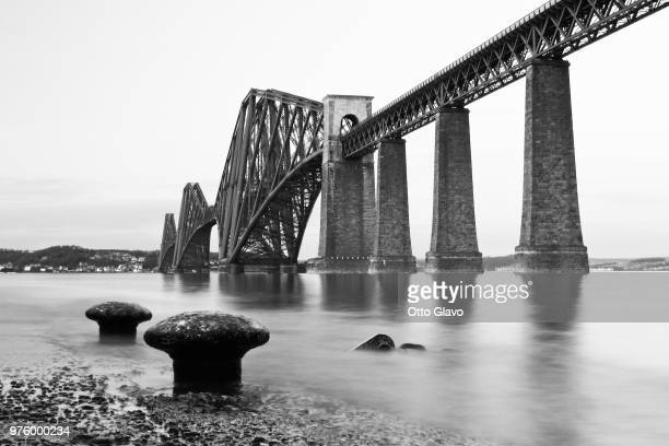 the forth rail bridge ii. - otto ii stock pictures, royalty-free photos & images