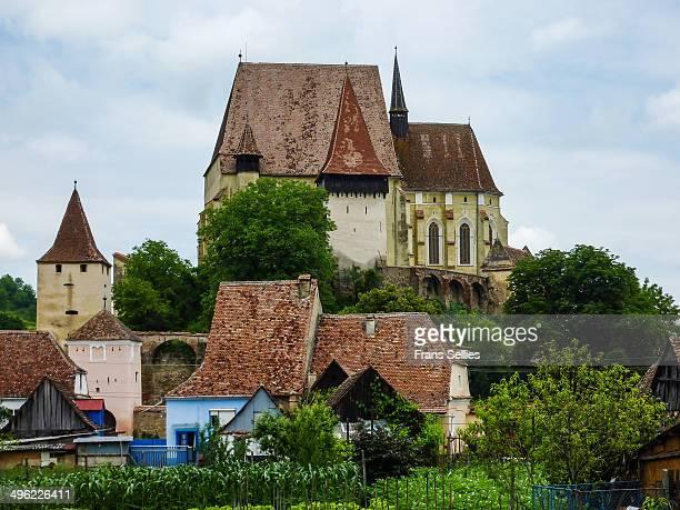 the fortified church of biertan - frans sellies stockfoto's en -beelden