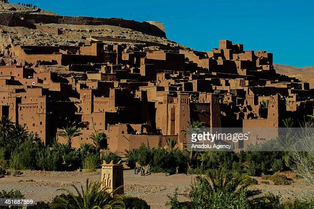 The fortified city of Ait Benhaddou known for its kasbah as much as so is she for several movies shot in there such as The Gladiator Babel Sodom And...