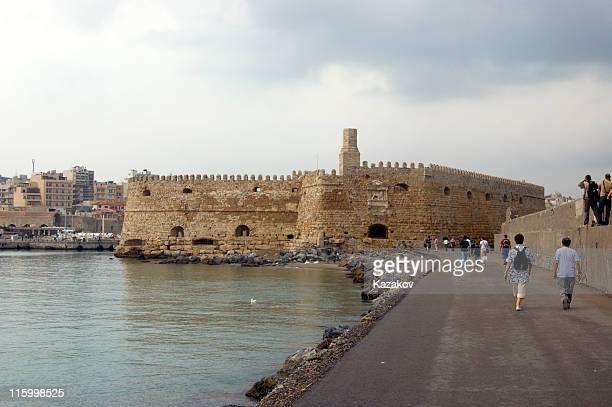 The fortress at Herakleion city.