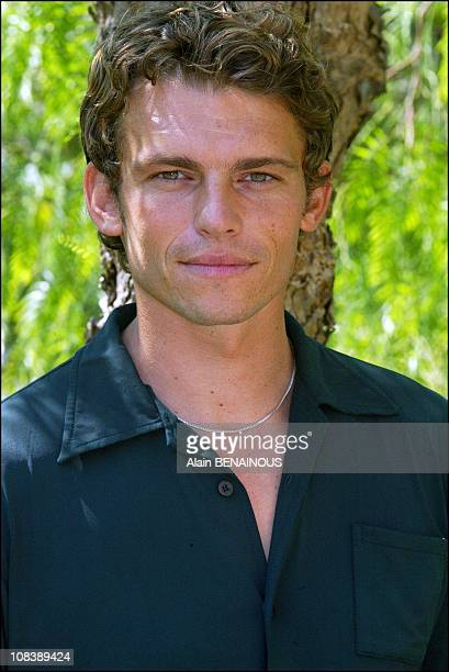 the fortythird TV film festival of Monaco Actor Arnaud Binard from the TV series 'Under the Sun' in Monaco on July 01 2003