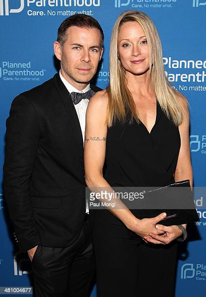The Fosters Executive Producer Brad Bredewegi and actress Teri Polo attend the Planned Parenthood Federation Of America's 2014 Gala Awards Dinner at...