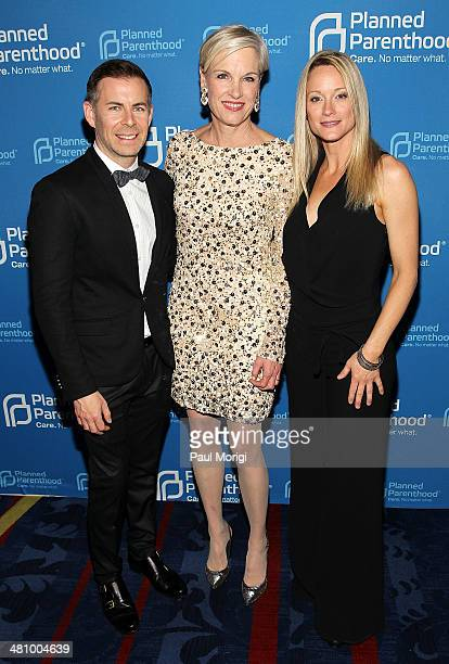'The Fosters' Executive Producer Brad Bredewegi Planned Parenthood Federation of America President Cecile Richards and actress Teri Polo attend the...