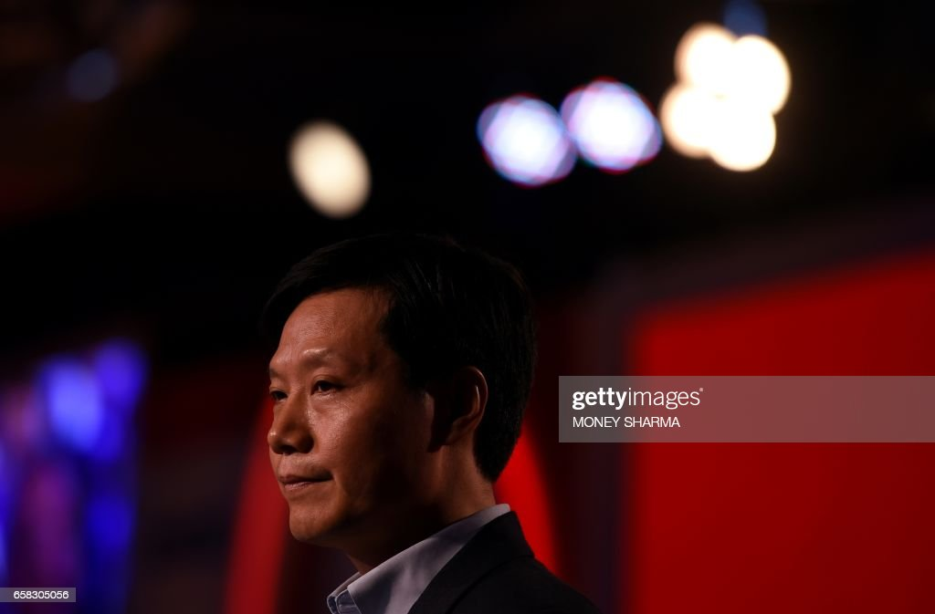 The founder of Chinese electronics company Xiaomi, Lei Jun