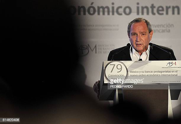 The founder of Stratfor a subscriptionbased provider of geopolitical analysis George Friedman delivers a speech during the second day of the 79th...