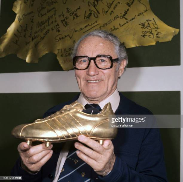 a3f2b190687e The founder of the German sportswear company Adidas Adolf Dassler is  pictured in his office in