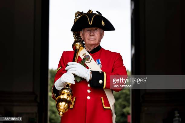 The Founder's Day Parade is marked at Royal Hospital Chelsea on August 05, 2021 in London, England. The event, which is attended by all Chelsea...