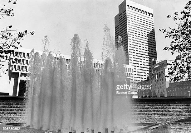 The fountain in City Hall Plaza in Boston on Sept 23 1969