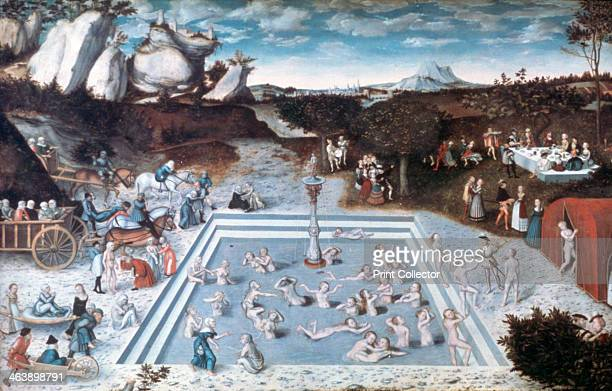 'The Fountain of Youth' 1546 From the collection of the Staatliche Museen zu Berlin Gemaldegalerie Berlin Germany