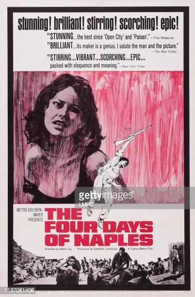 The Four Days Of Naples poster US poster art Lea Massari 1962