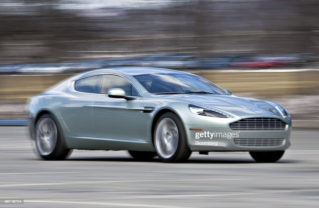 Aston Martin Rapide Sedan Test Drive Photos And Images Getty Images - Aston martin four door