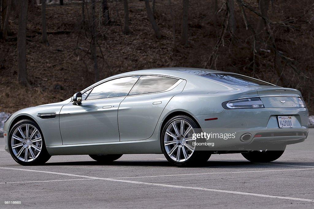 The Four Door Aston Martin Rapide Sedan Is Photographed In Bear Nachrichtenfoto Getty Images