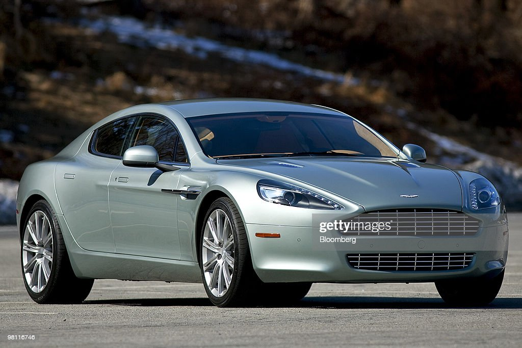 The Four Door Aston Martin Rapide Sedan Is Photographed In Bear - Aston martin four door