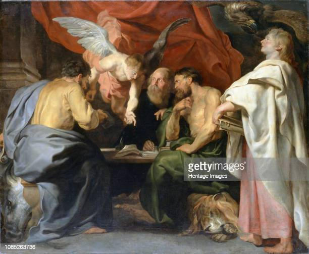 The Four Evangelists 1614 Found in the Collection of Sanssouci Potsdam