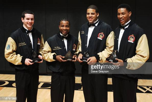 The Four Finalists In The 2005 John R Wooden Award As The Nations