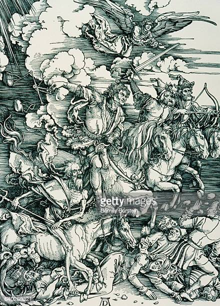 The Four Horsemen of the Apocalypse by Albrecht Durer