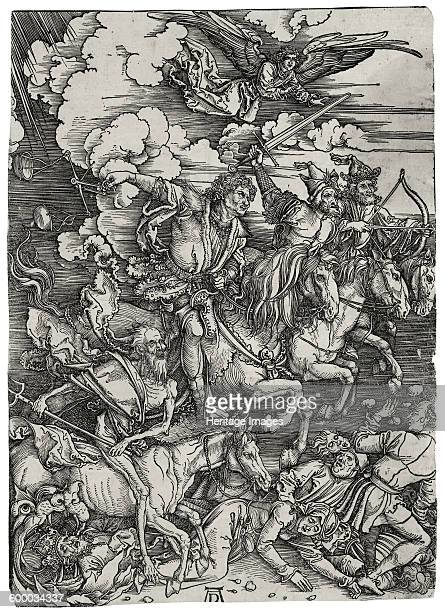 The Four Horsemen of the Apocalypse ca 1498 Private Collection Artist Dürer Albrecht