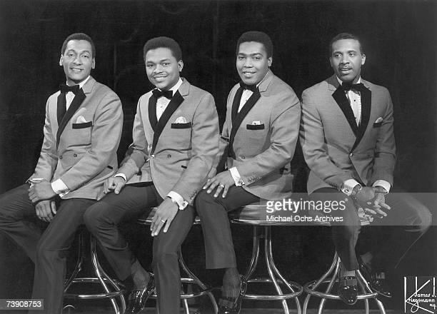 The Four Tops LR Abdul Duke Fakir Renaldo Obie Benson Lawrence Payton and Levi Stubbs pose for a portrait circa 1964 in New York City New York