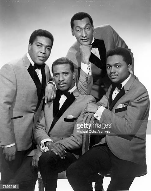The Four Tops LR Lawrence Payton Levi Stubbs Abdul Duke Fakir and Renaldo Obie Benson pose for a portrait circa 1965 in New York City New York