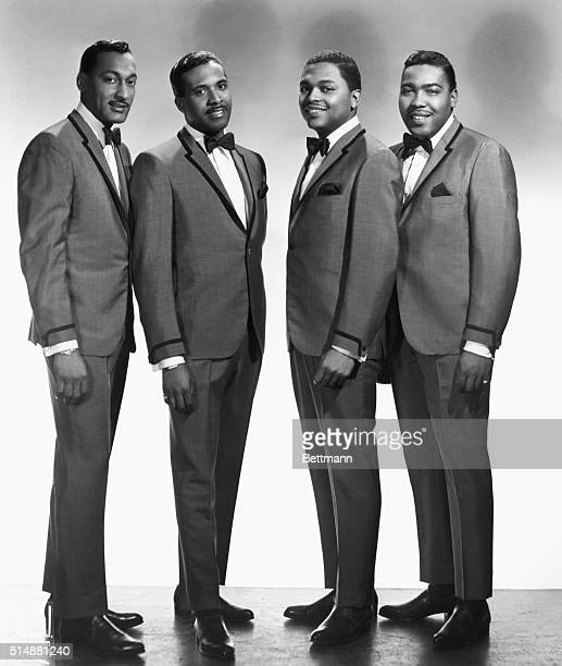The Four Tops Motown recording artists Undated photo Direction International Talent Management Inc Detroit Michigan 48208 Associated Booking Corp...