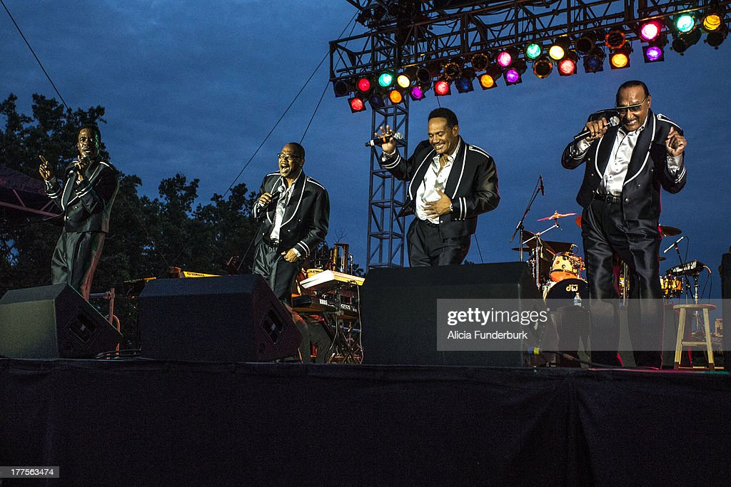 2013 Biltmore Concert Series - The Four Tops : News Photo