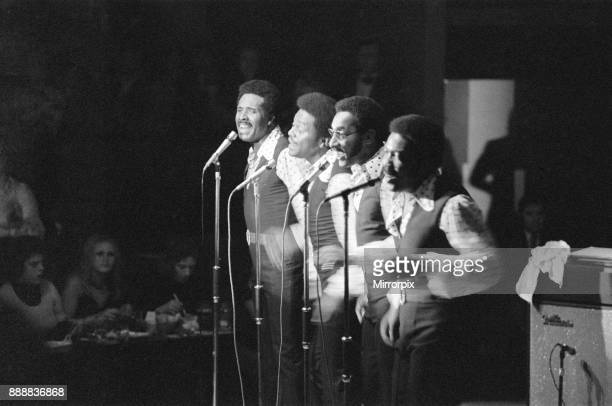The Four Tops performing at Fiesta Circa 1973