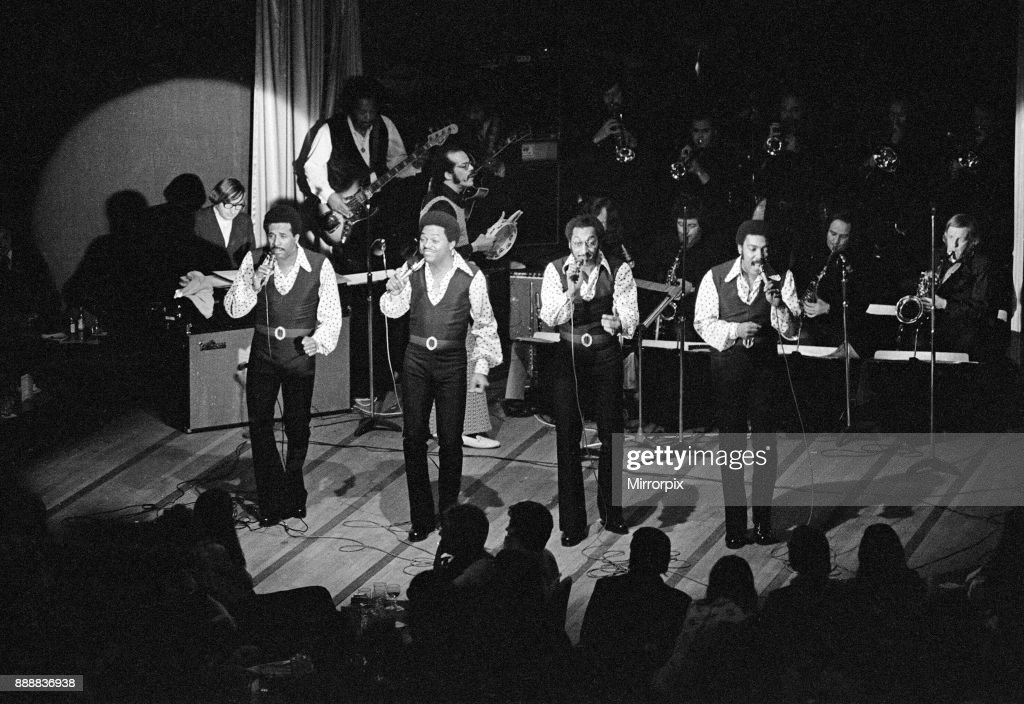 The Four Tops, circa 1973 : News Photo