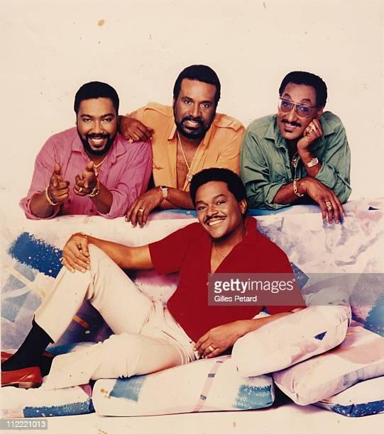 The Four Tops studio group portrait United States LR Lawrence Payton Levi Stubbs Ronaldo 'Obie' Benson and Abdul 'Duke' Fakir