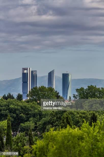 the four towers - vicente méndez fotografías e imágenes de stock