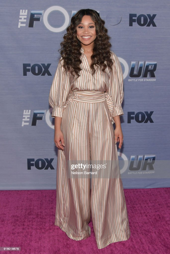 'The Four' Winner, Evvie McKinney attends the season finale viewing party for FOX's 'The Four' at Delilah on February 8, 2018 in West Hollywood, California.