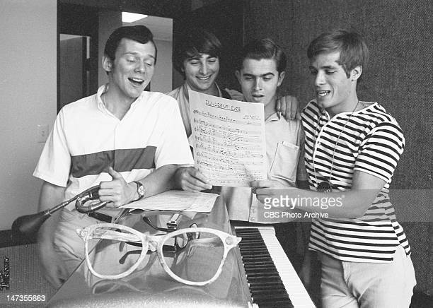 The fourpiece combo band called 'Don Grady's Greefs' featuring from left Gil Rogers Wiley Rinaldi Cubby O'Brian and Don Grady Image dated May 17 1966