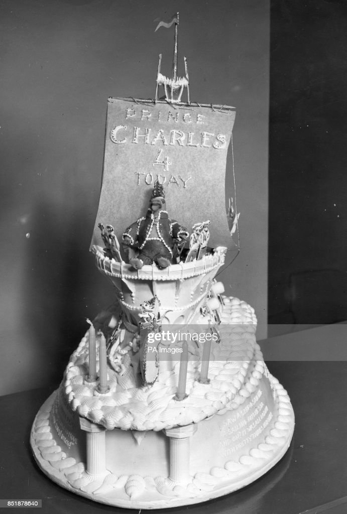 Royalty Fourth birthday cake Prince Charles Pictures Getty Images