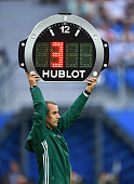 saint petersburg russia fourth official holds