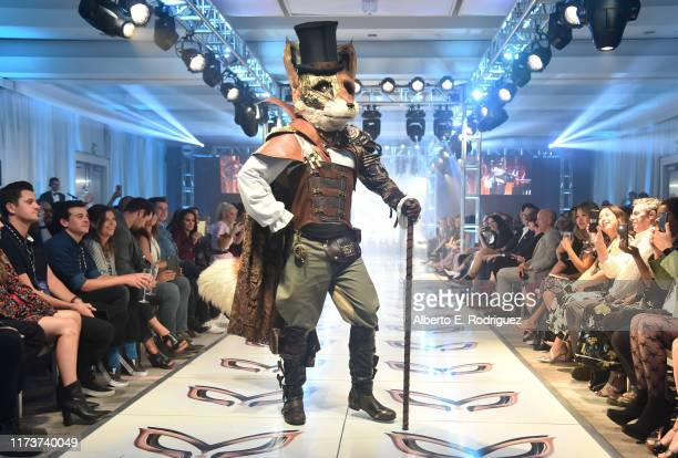 The Fox participates in a runway show for the premiere of Fox's The Masked Singer Season 2 at The Bazaar at the SLS Hotel Beverly Hills on September...