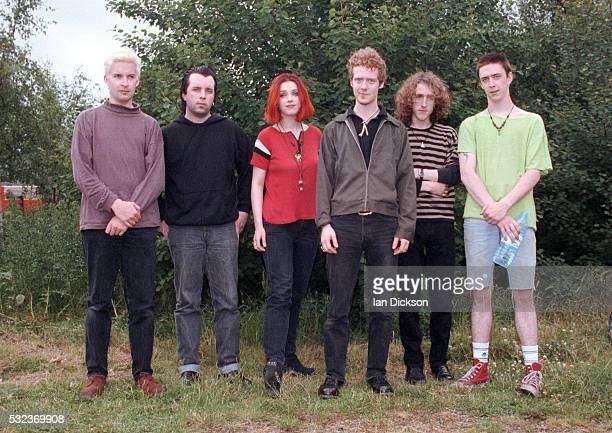 The Frames group portrait London United Kingdom 1993