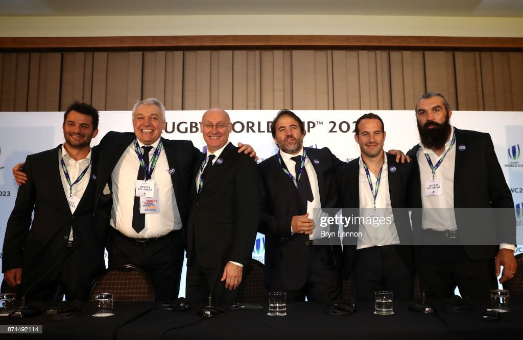 Rugby World Cup 2023 Host Decision : News Photo
